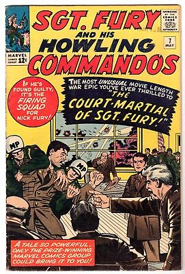 Sgt. Fury and His Howling Commandos #7, Fine Condition