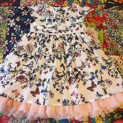 Marks & Spencer 3-6 Baby Girls Floral Party Dress