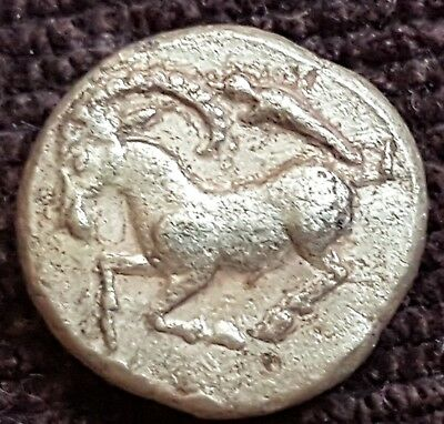 Very Rare Greek Gold Coin El Hekte 1/6 Stater , Ionia Phokaia 2.55 g.