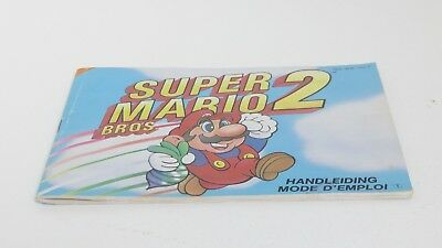 Super Mario Bros 2 - NES manual only