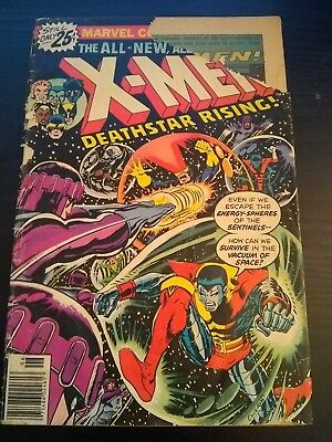 The X-Men #99 (Jun 1976, Marvel)---BRONZE-AGE CLASSIC---TORN COVER---