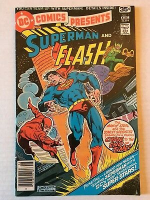 DC Comics Presents Superman And The Flash #1 (DC), VG+
