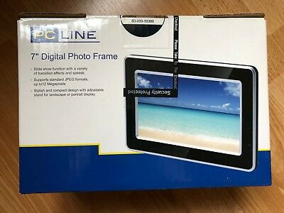 "7"" Digital Photo Frame - New/Unused"
