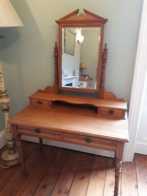 Victorian satinwood dressing table
