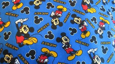 37770-103 NUTEX FABRIC 100/% Cotton Disney Mickey Mouse Expressions