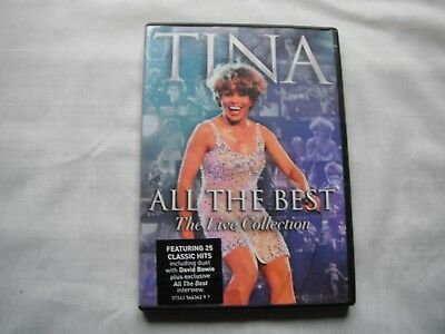Tina Turner - All The Best  - The Live Collection Music Concert + Interview  DVD