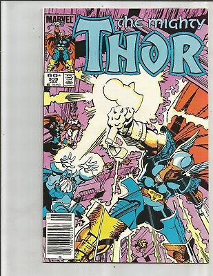 Thor 339 (1984). 1ST APPEARANCE STORMBRINGER!!!   EXTREME HIGH GRADE! NEWSTAND