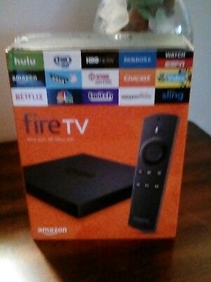 Amazon Fire Tv  NEW  2nd generation #dv83yw  4K Ultra HD With Alexa voice remote