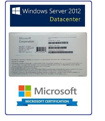 Factory Selaed Microsoft Windows Server 2012 R2 Datacenter (Dvd & Coa) Pack