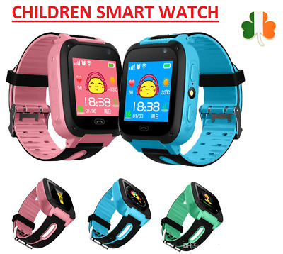 Kids Smart Watch Childres Anti-Lost Watch LBS Tracker Watch SOS Call Android IOS