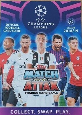 Topps Match Attax Champions League UCL 2019 Man of the Match Mega Signings cards