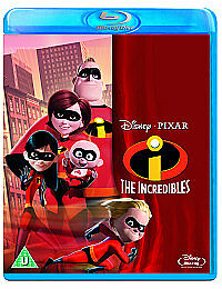 The Incredibles (Blu-ray, 2011) Brand New, Sealed