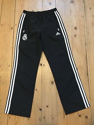 Kids Childs Junior Youth Real Madrid Track Pants Joggers 11 Years Adidas