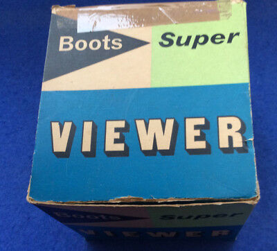 Boots Super Viewer - vintage 35mm sllde viewer