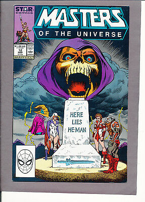 Masters of the Universe 12 NM- 9.2 2nd Last Issue Very Hard to Find Hot