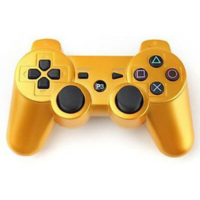 Generic Wireless Playstation 3 Controller - PS3 - Gold Color