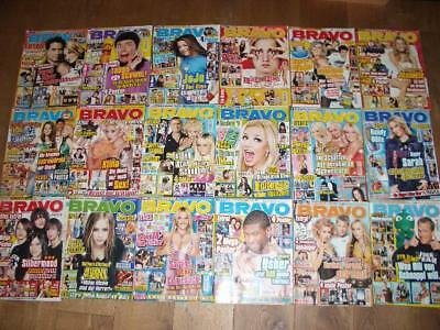18 BRAVO HEFTE-SAMMLUNG LOT 2004 BRITNEY SPEARS AVRIL L. S. CONNOR 2000er Jahre
