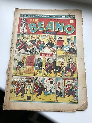 EARLY VINTAGE BEANO COMIC - NO 268 OCT 6th 1945