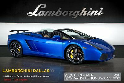 2007 Lamborghini Gallardo  PWR HEATD SEATS + BI-COLOR INTER + CALLISTOS + CARBON FIBER RR WING + BEAUTIFUL!