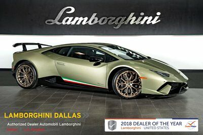 2018 Lamborghini Huracan Performante  BRANDING+NARVI+TRAVEL+LIFT SYS+STYLE+TRANSPARENT ENGINE+AD PERSONAM+NAV