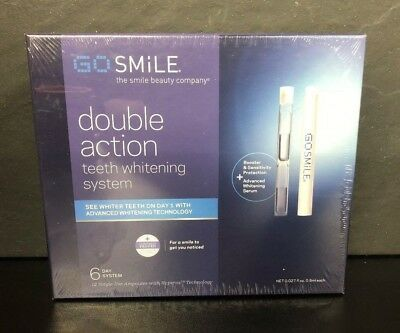 Go Smile Teeth Whitening System Brand New Sealed Package