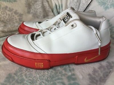 special for shoe official supplier incredible prices 2007 NIKE ZOOM Lebron White/Red Low ST Shoes Size 11 M - $30.00 ...