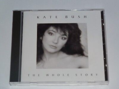 Kate Bush The Whole Story Uk Cd Album In Mint Condition (1990)