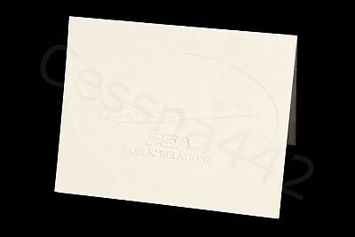 PSA Original Vintage Public Relations Card Blank Pacific Southwest Airlines NEW