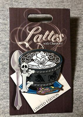 Disney Lattes With Character Hades LE Pin