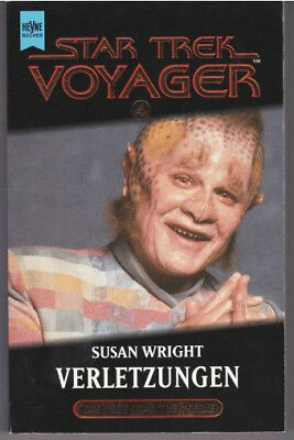 STAR TREK VOYAGER (4) Verletzungen / Science Fiction Buch zur TV-Serie / 1997