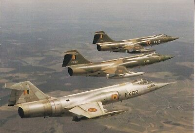 Org PK ABL:   F-104G Starfighters  Belgian Air Force