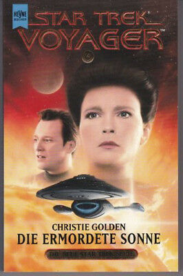 STAR TREK VOYAGER (6) Die Ermordete Sonne /Science Fiction Buch TV-Serie / 1999