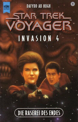 STAR TREK VOYAGER (9) Die Raserei Des Endes /Science Fiction Buch TV-Serie/ 2000