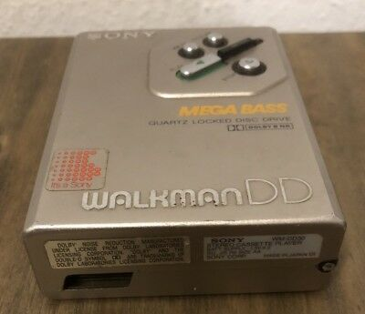 Sony Walkman DD WM-DD30, Walkman, Cassette Player, Kassette