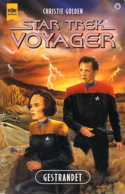 STAR TREK VOYAGER (16) Gestrandet /Buch zur TV-Serie / 2000 Science Fiction Fan
