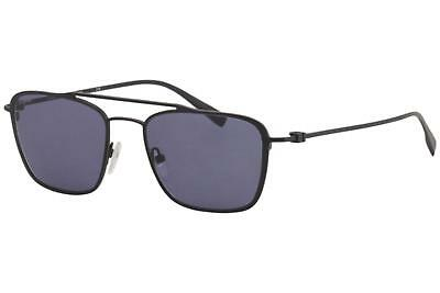 8cae91362d Salvatore Ferragamo Men s SF500S SF 500 S 009 Satin Black Pilot Sunglasses  54mm