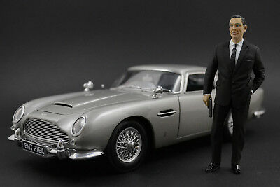 Sean Connery James Bond Figur für 1:18 AUTOart Toyota 2000GT Roadster
