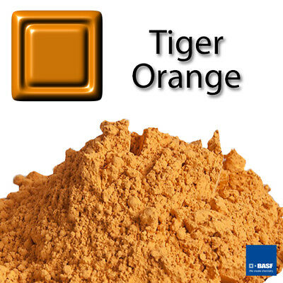 "#DE ""Tiger Orange"" Pigment Farbe Unterglasur Keramik Stains Pottery"