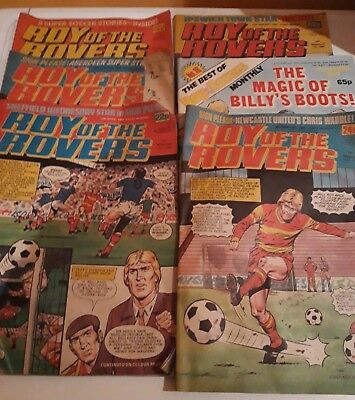 Roy Of The Rovers Comics, Used