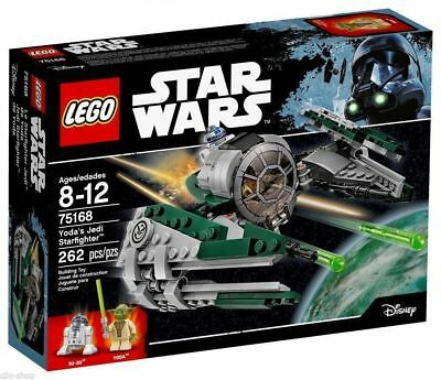 Lego Star Wars Jedi Starfighter Di Yoda 75168