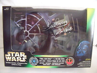 Final Jedi Duel Star Wars Power of theForce 2 Autogramm Dave Prowse Darth Vader