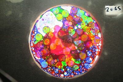 BUBBLE VISION oil wheel WITH CIRCLES optikinetics projector solar 250,575,AURA