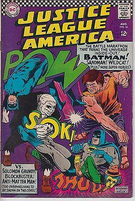 Justice League of America 46 - 1966 - Justice Society - Fine +