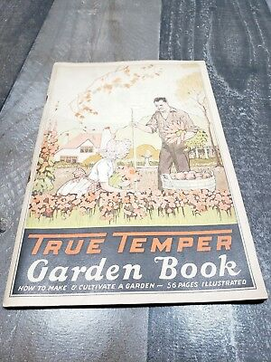 1927 True Temper Garden Tip & Tool Booklet - 56 Pages