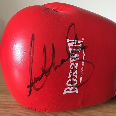 *GENUINE* Anthony Joshua Hand Signed Boxing Glove Autograph Champion Memorabilia