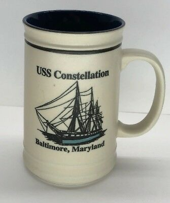 USS Constellation Baltimore Maryland Coffee Tea Mug Free Shipping