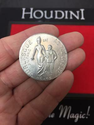 Vintage 1950's Burlesque As You Like It TOKEN • Heads - Tails • Aluminum Coin