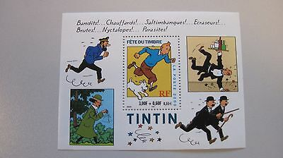 TINTIN - STAMP TIMBRE  FRENCH PO   Fête du Timbre - Poste Francaise  4201