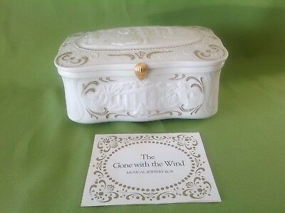 Franklin Mint Gone With The Wind 50th Anniversary Jewlery Box