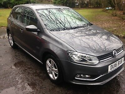 Volkswagen Polo 1.0 BlueMotion Tech March Design 5 door 2016 Only 16,944 miles